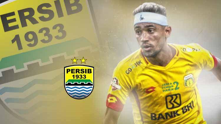 Dirumorkan gabung Persib Bandung di Liga 1 2020, Bruno Matos dapat ungkapan kasar di Wikipedia. Copyright: © Grafis:Ynt/Indosport.com