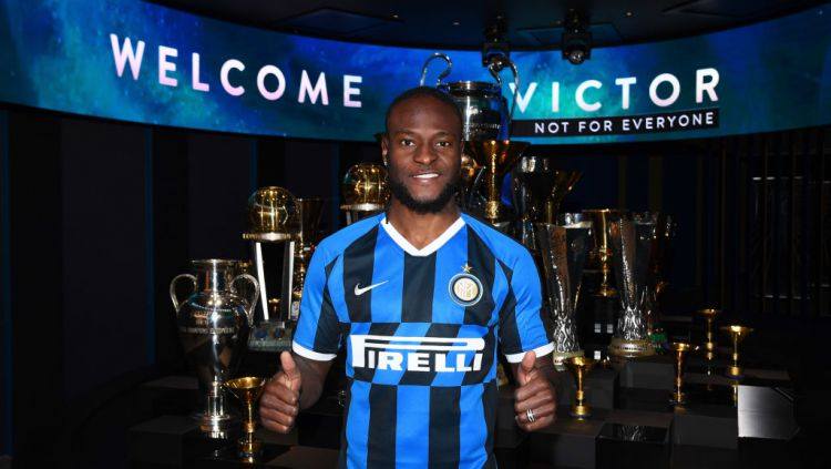 Victor Moses resmi berseragam Inter Milan Copyright: © Claudio Villa - Inter/Inter via Getty Images