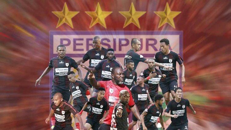 Persipura Jayapura sepertinya akan memiliki starting XI mengerikan di Liga 1 2020, dan bahkan bisa masuk ke dalam kandidat juara. Copyright: © https://www.instagram.com/persipurapapua1963/