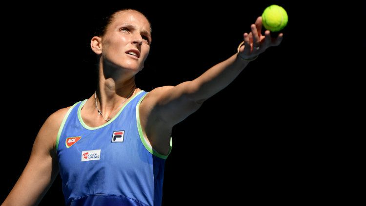 Unggulan kedua, Karolina Pliskova gugur di babak ketiga Australia Terbuka 2020. Copyright: © Quinn Rooney/Getty Images