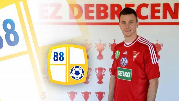 Danilo Sekulic dikabarkan akan bergabung ke Barito Putera. Foto: fudbal.hotsport.rs Copyright: © Grafis:Ynt/Indosport.com