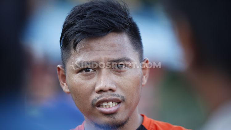 Pemain Persija Jakarta, Tony Sucipto. Copyright: © Herry Ibrahim/INDOSPORT
