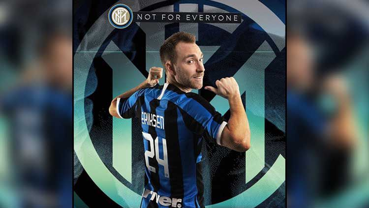 Christian Eriksen resmi ke klub Serie A Italia, Inter Milan Copyright: © Instagram Inter Milan