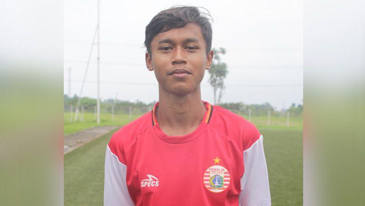Pemain muda Persija Jakarta, Alfriyanto Nico Saputro mendapat kesempatan berlatih bersama tim senior jelang lanjutan Liga 1 2020. Copyright: © epa.pssi.org