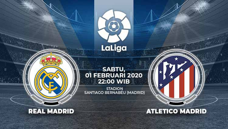 Xem lại Real Madrid vs Atletico Madrid, La Liga – 01/02/2020