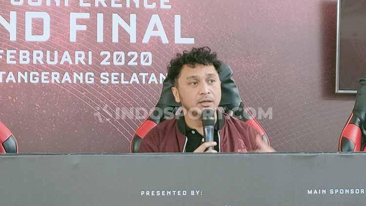 Giring Ganesha angkat bicara soal isu yang menyebut Piala Presiden eSports 2020 menggunakan dana APBN. Copyright: © Martin Gibsian/INDOSPORT