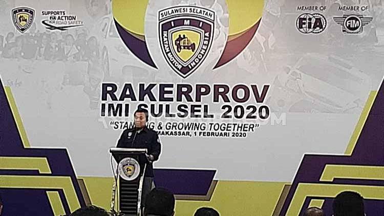 Ikatan Motor Indonesia Provinsi Sulawesi Selatan (IMI Sulsel) sukses menyelenggarakan 51 kejuaraan baik tingkat daerah hingga nasional sepanjang tahun 2019. Copyright: © Adriyan Adirizky/INDOSPORT