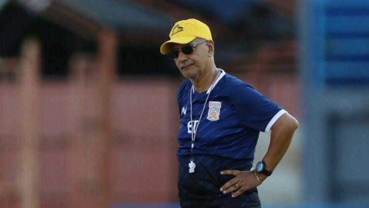 Eks pelatih Borneo FC asal Brasil, Edson Tavares. Copyright: © borneofc.id
