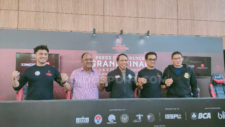 Menpora Zainudin Amali baru saja resmi membentuk Pengurus Besar (PB) eSports Indonesia pada 18 Januari 2020 lalu, bagaimanakah nasib IESPA? Copyright: © Martini/INDOSPORT