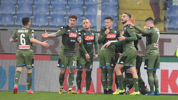 Hasil Liga Italia Brescia vs Napoli: Epic Comeback I Partenopei Copyright: © Twitter.com/@sscnapoli