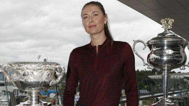 Legenda tenis dunia asal Rusia, Maria Sharapova baru-baru ini mengungkapkan titik terendah yang terjadi dalam kariernya. Copyright: © Darrian Traynor/Getty Images