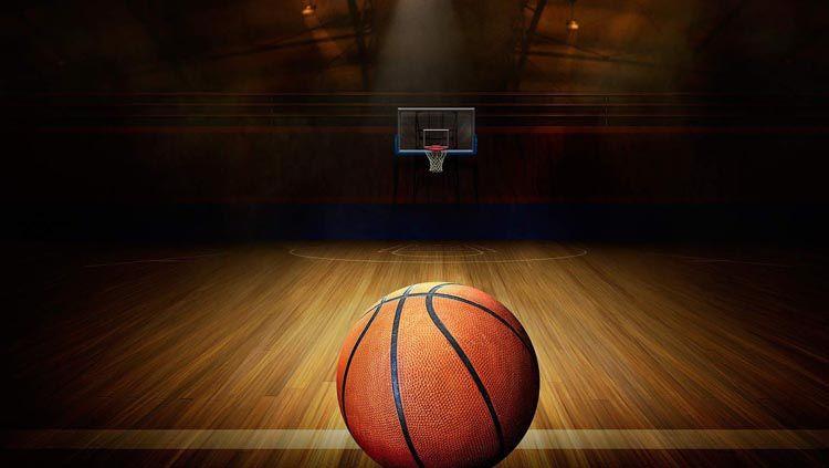 Ilustrasi bola basket. Copyright: © WallpaperAccess