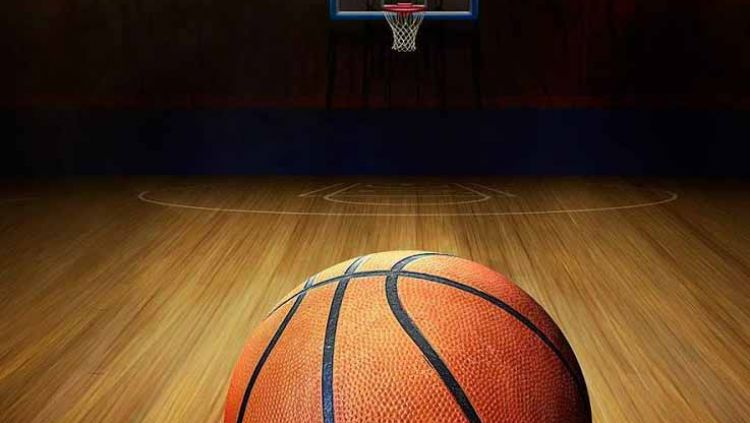 Ilustrasi bola basket. Copyright: © WallpaperAccess