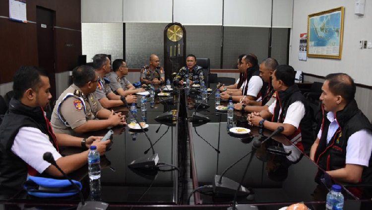 PSSI menerima kunjungan Tim Satgas Antimafia Bola Jilid II. Copyright: © pssi.org