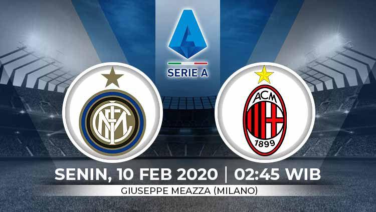 Prediksi Pertandingan Serie A Liga Italia Inter Milan Vs Ac Milan Indosport