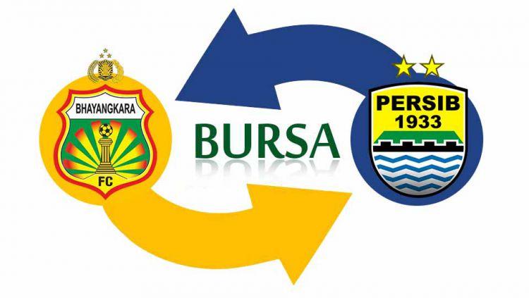 Bhayangkara FC tampak menjadi 'penjegal' bagi Persib Bandung di masa bursa transfer jelang Liga 1 2020. Copyright: © Grafis:Ynt/Indosport.com