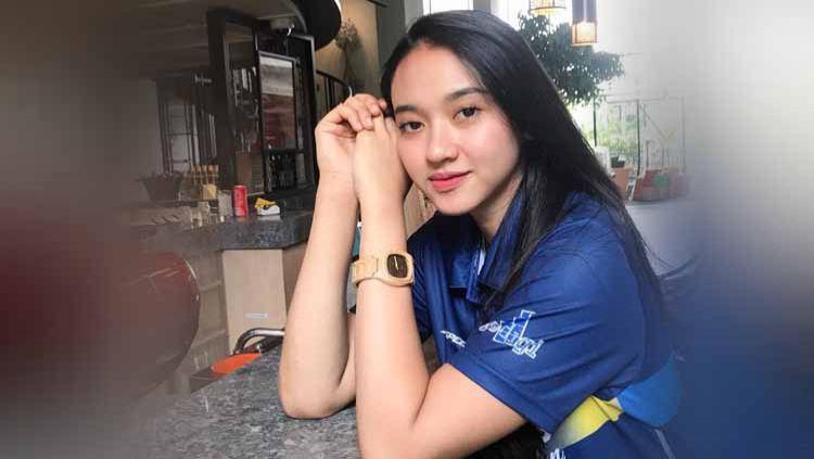 Media asing ini ternyata memasukkan nama pemain voli wanita Indonesia, Pungky Afriecia, ke dalam empat bidadari tercantik voli di Asia. Copyright: © Instagram@pungkyafriecia