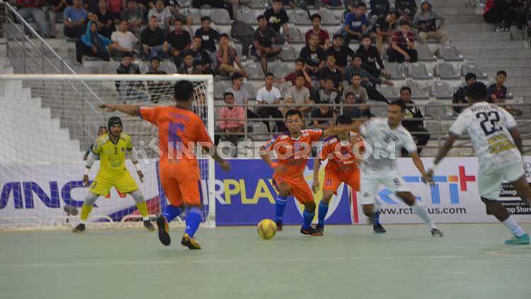 Bank Sumut FC vs Mutiara FC di Pro Futsal League 2020. Copyright: © Aldi Aulia Anwar/INDOSPORT