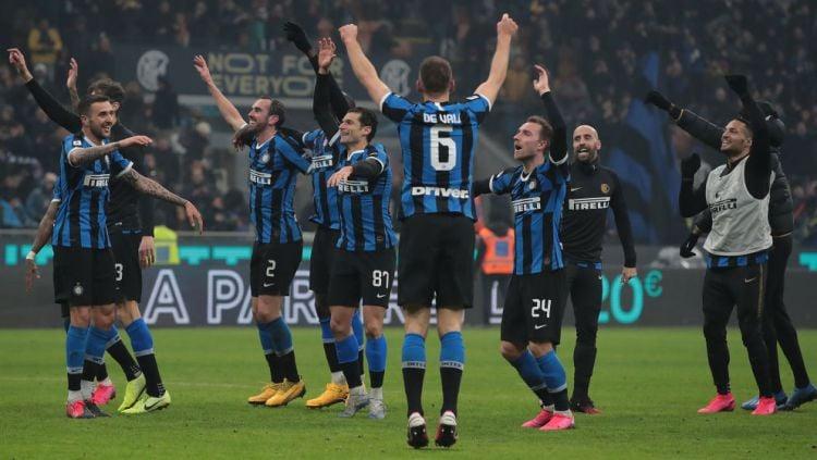 Raksasa Serie A Liga Italia, Inter Milan akan menghadapi Lazio, Senin (17/02/20). Copyright: © Emilio Andreoli/Getty Images