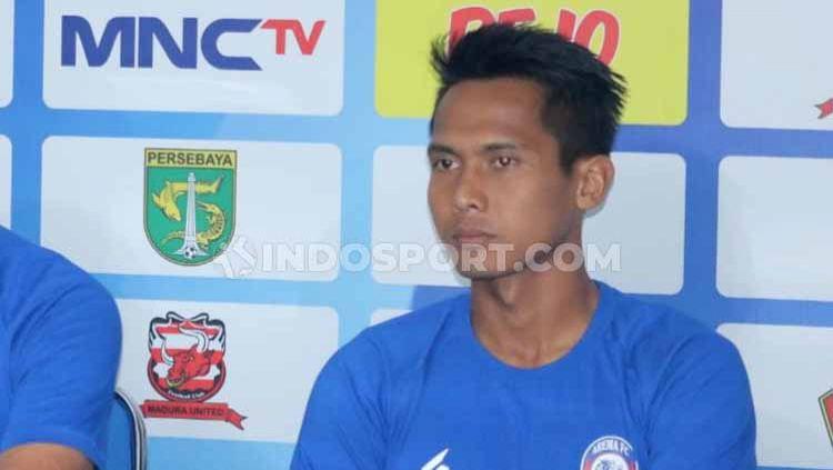 Kapten Arema FC, Hendro Siswanto. Copyright: © Ian Setiawan/INDOSPORT