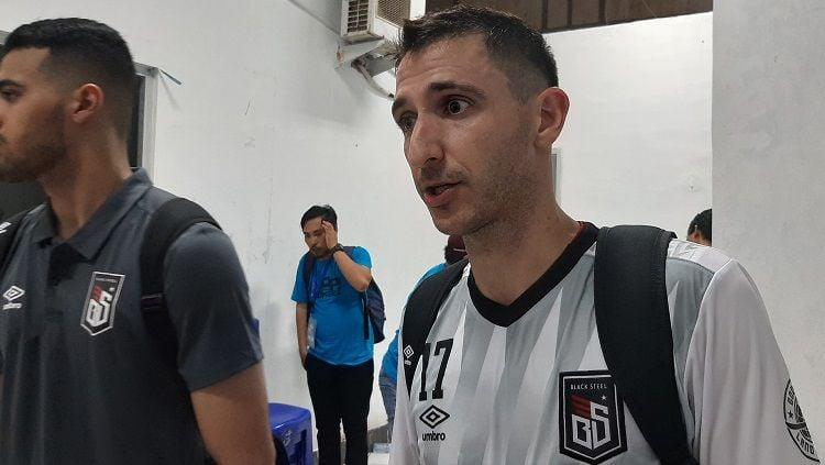 Pemain terbaik Liga Nacional de Futsal (LNF) Brazil 2019 milik klub Blacksteel FC, Henrique Di Maria. Copyright: © Adriyan Adirizky/INDOSPORT