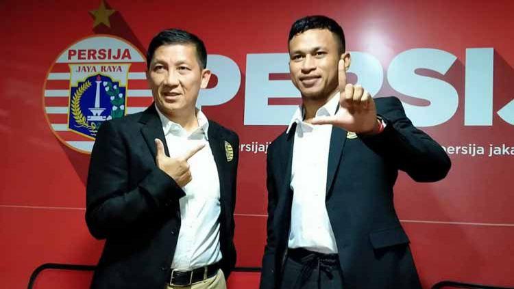 Gaji Osvaldo Haay yang lebih rendah dari Evan Dimas di klub Liga 1 Persija Jakarta menjadi sorotan media asing. Copyright: © Zainal Hasan/INDOSPORT