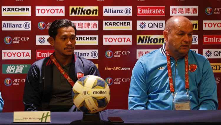 Wakil Indonesia di ajang Piala AFC 2020, PSM Makassar, siaga satu jelang menghadapi klub Myanmar, Shan United. Copyright: © Media PSM