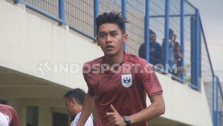 Dragan Djukanovic selaku pelatih kepala klub Liga 1 PSIS Semarang mengisyaratkan akan menyimpan Septian David Maulana dalam laga uji coba. Copyright: © Alvin Septian/INDOSPORT