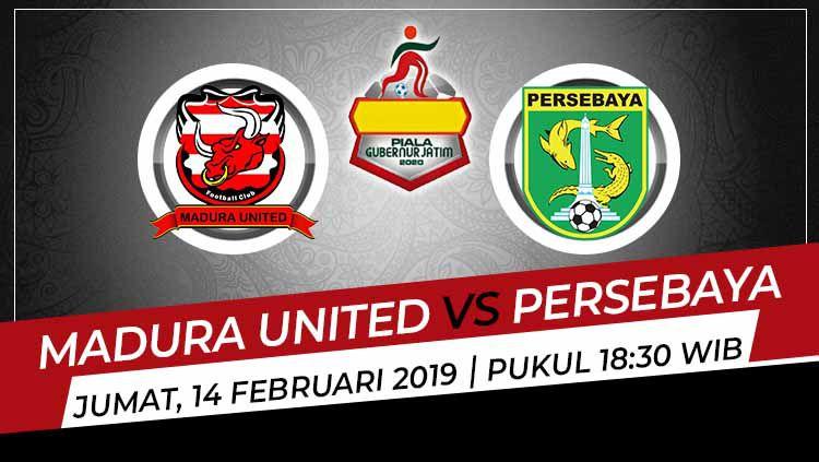Konsistensi Aji Santoso, sepertinya layak untuk jadi tajuk utama prediksi pertandingan Piala Gubernur Jatim 2020 antara Madura United vs Persebaya Surabaya. Copyright: © Grafis:Ynt/Indosport.com