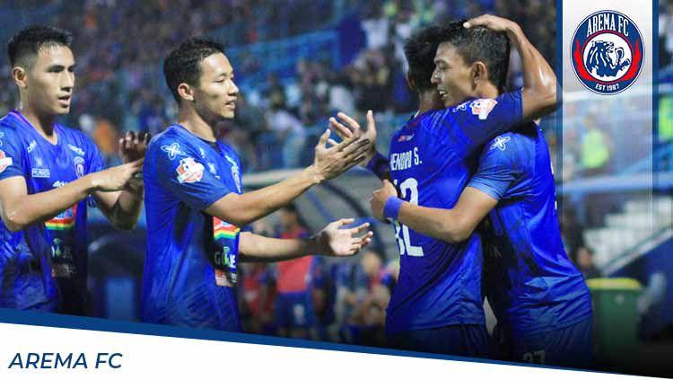 Profil Tim Arema FC untuk Liga 1 2020. Copyright: © Grafis:Ynt/Indosport.com