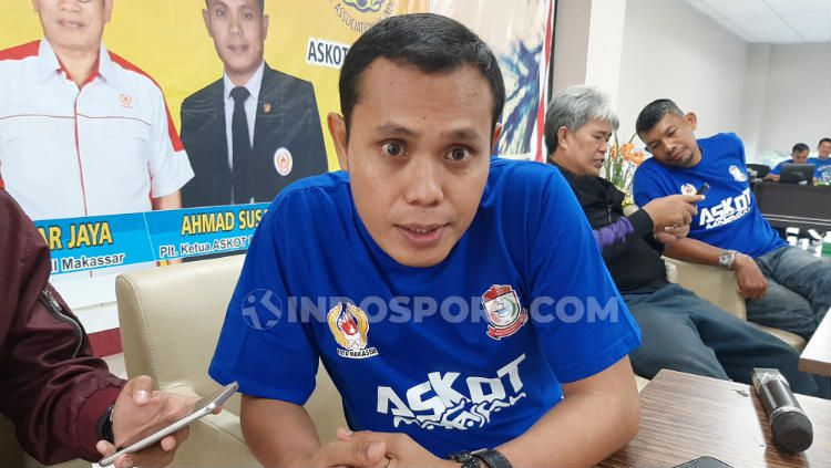 Ketua Harian AFP Sulsel, Ahmad Susanto. Copyright: © Adriyan Adirizky/INDOSPORT