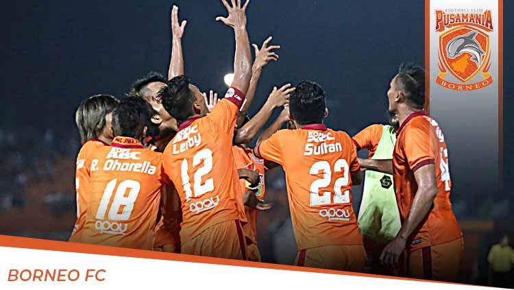 Profil Tim Pusamania Borneo FC untuk Liga 1 2020. Copyright: © Grafis:Yanto/Indosport.com