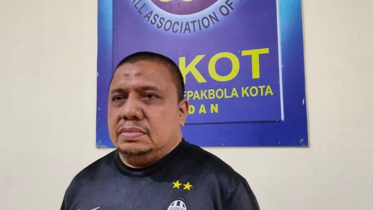 Ketua Askot PSSI Medan, Iswanda Ramli. Copyright: © Media Askot PSSI Medan