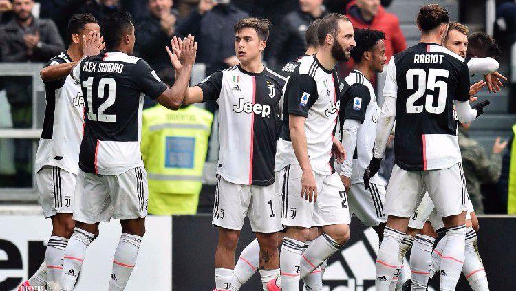 Juventus baru-baru ini dikabarkan berhasil menjadi juara Liga Champions musim 2019/20 di tengah-tengah pandemi virus corona (Covid-19). Copyright: © twitter.com/juventusfc