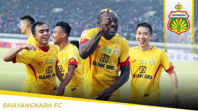Profil Tim Bhayangkara FC untuk Liga 1 2020. Copyright: © Grafis:Yanto/Indosport.com