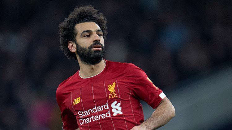 Pemain megabintang klub Liga Inggris, Liverpool, Mohamed Salah. Copyright: © Visionhaus/GettyImages