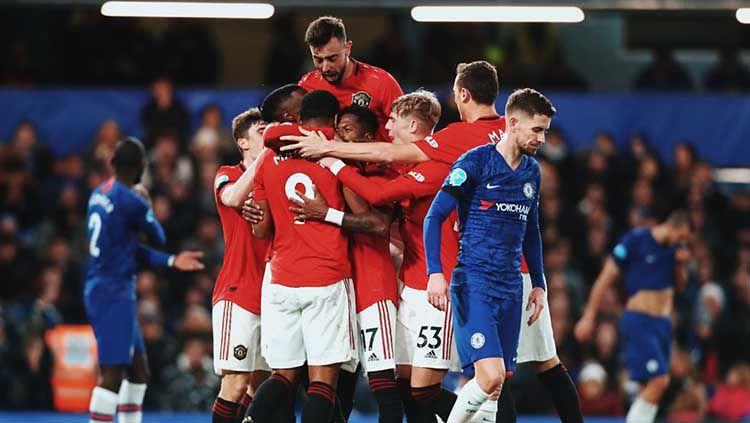 Jelang laga kontra Chelsea dalam lanjutan Liga Inggris pekan ke-26, Manchester United dikejutkan dengan kabar buruk yang harus mereka terima. Copyright: © Twitter/@ManUtd
