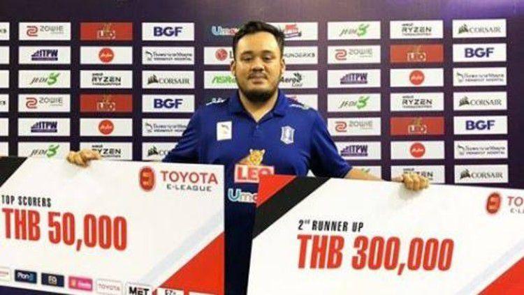 Rizal 'Ivander' Danyarta, pemain eSports Indonesia di Liga PES Thailand Copyright: © Instagram @rizaldanyarta
