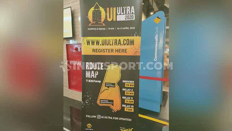 UI Runner akan menggelar kompetisi lari marathon bertajuk UI Ultra 2020, yang digelar malam hari dan berhadiah total ratusan juta rupiah. Copyright: © Martini/INDOSPORT