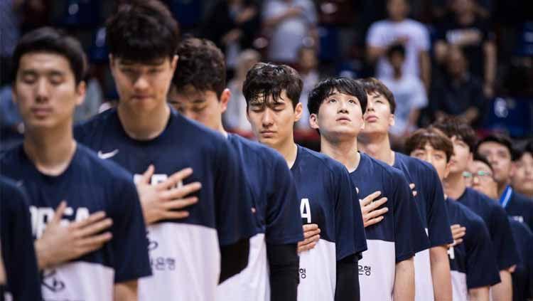 Kualifikasi FIBA Asia Cup 2020: Indonesia vs Korea Selatan. Copyright: © Media FIBA Asia