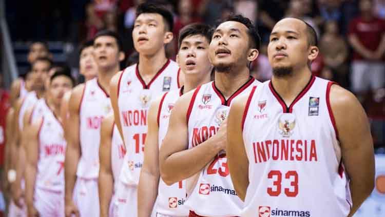 Timnas Basket Indonesia mengalami dua kekalahan di Kualifikasi FIBA Asia Cup 2021. Copyright: © Media FIBA Asia