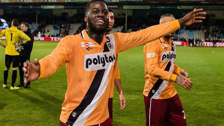 Tak ada salahnya untuk mengintip harga transfer eks Liga Belanda Doriano Kortstam yang tengah dikaitkan ke Persik Kediri jelang Liga 1 2020. Copyright: © VI Images via Getty Images
