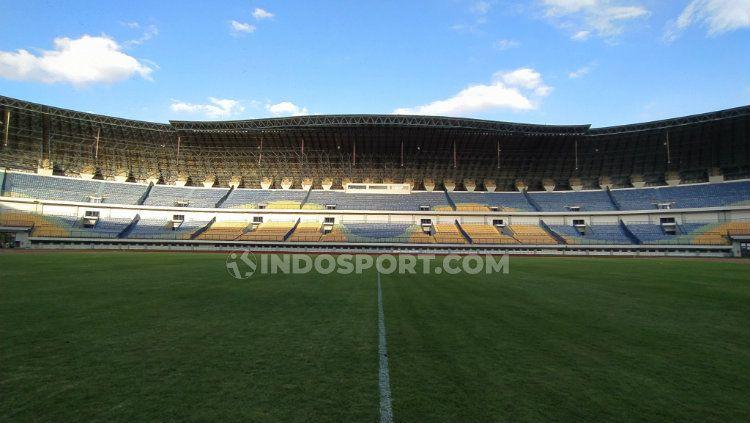 Stadion Gelora Bandung Lautan Api (GBLA), Kota Bandung. Copyright: © Arif Rahman/INDOSPORT