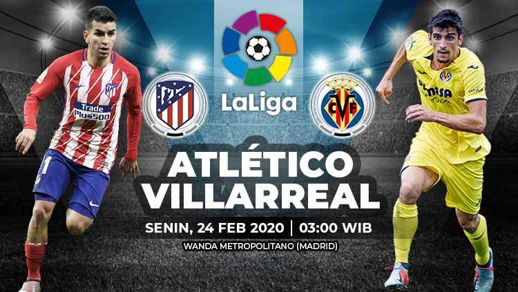 Link live streaming pertandingan LaLiga Spanyol antara Atletico Madrid Copyright: © Grafis: Yanto/Indosport.com