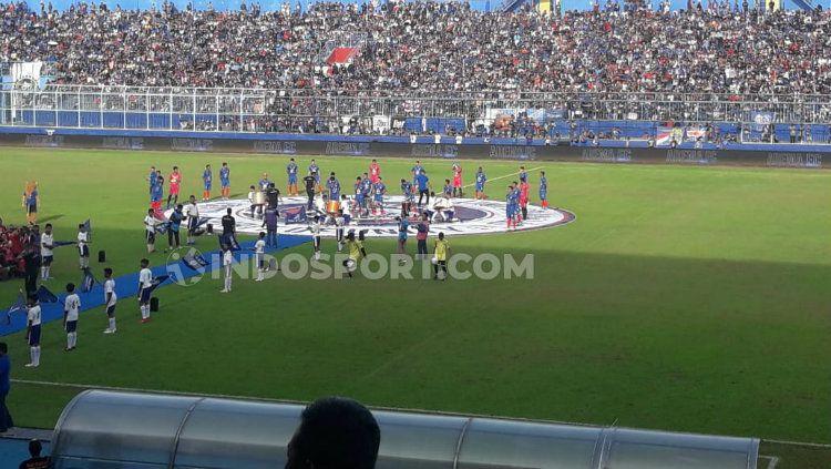 Stadion Kanjuruhan, Malang salah satu calon venue Piala Menpora 2021. Copyright: © Ian Setiawan/INDOSPORT