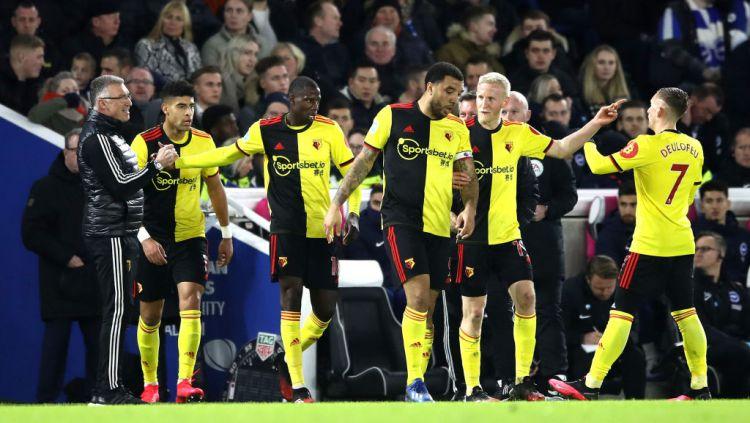 Watford, Klub Semenjana yang Bisa Bikin Manchester United Has Fallen Jilid 2. Copyright: © Bryn Lennon/Getty Images