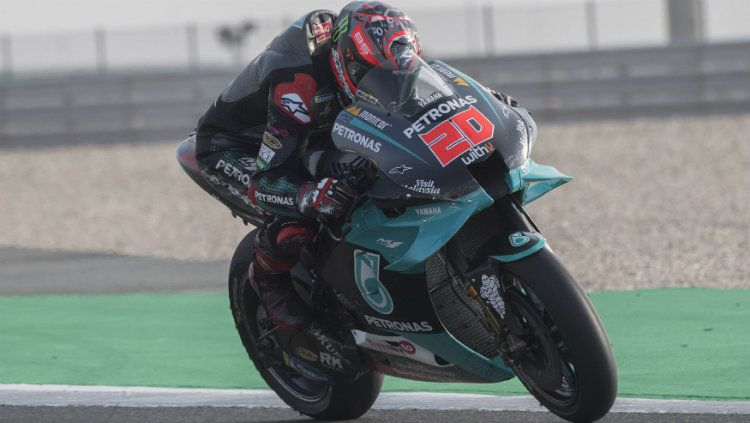 Fabio Quartararo mengaku masih belum bisa beradaptasi dengan motornya jelang balapan MotoGP 2020. Copyright: © Mirco Lazzari gp/Getty Images