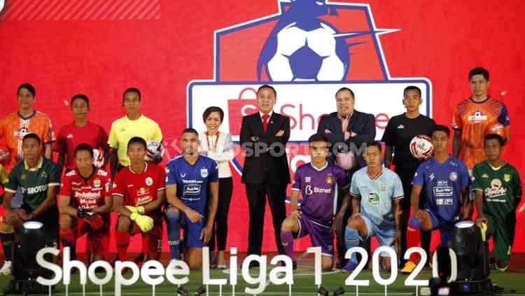 Launching Shopee Liga 1 2020. Copyright: © Herry Ibrahim/INDOSPORT