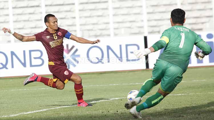 Ferdinand Sinaga mengaku sudah betah bermain untuk klub Liga 1, PSM Makassar. Copyright: © Herry Ibrahim/INDOSPORT