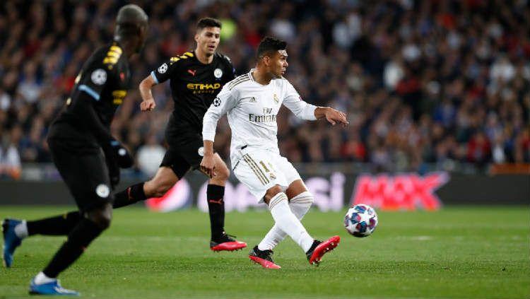 Pertandingan leg kedua babak 16 besar Liga Champions 2019/20 antara Manchester City vs Real Madrid bisa saja dihelat di Portugal. Copyright: © Real Madrid